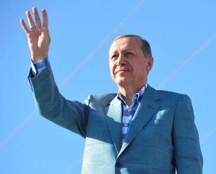 Cumhurbaşkanı Erdoğandan bayram mesajı