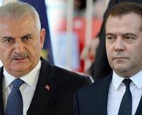Yıldırım ve Medvedev'den önemli görüşme