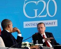 Erdoğan, Obama ve Putin'le görüşecek