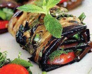 Patlıcan Sarma Salatası Tarifi