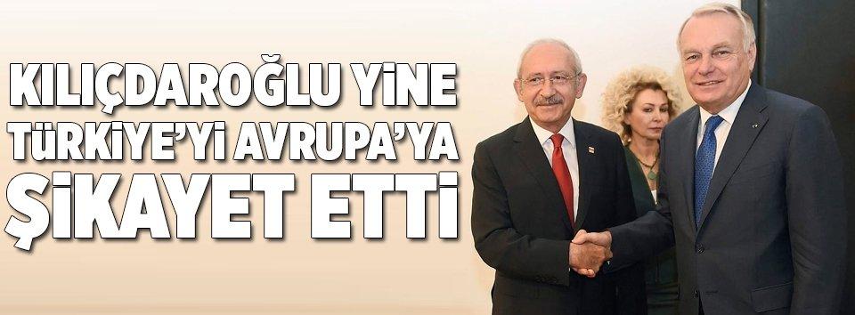 Kılıçdaroğlu şikayet etti