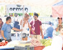 Işıl'ın ilk pazarı