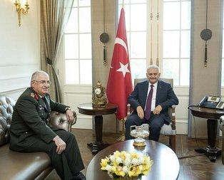 Başbakan Yıldırım, kuvvet komutanlarıyla tek tek görüşüyor