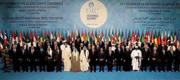 FETÖye bir darbe de İslam İşbirliği Teşkilatından!