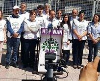 HDP, Van'da mitingcik yaptı!