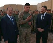 Erdoğan'dan Başika'daki askerlere moral telefonu