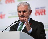 Başbakan'dan CHP ve HDP'ye taş!