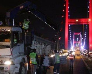 İstanbullular dikkat! O köprüde çalışmalar başladı