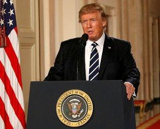 Trump'tan İran'a 'askeri müdahale' açıklaması