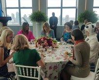 First Ladyler yemekte buluştu