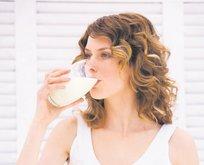 Kefir ve süt için kemikleri eritmeyin