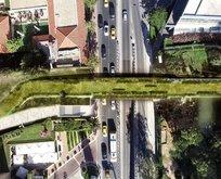Taksim- Maçka arasına ekolojik yaya köprüsü