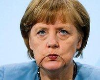 Merkel'in zoruna gitmiş!