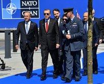 Cumhurbaşkanı Erdoğan, NATO karargahında