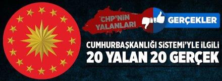 CHP'nin yalanları ve gerçekler