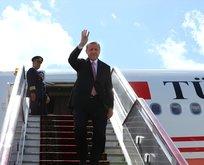 Cumhurbaşkanı Erdoğandan dört ülkeye ziyaret