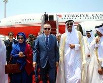 Katar halkı Erdoğanın gelişini kutluyor