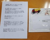 Hollandada camiye tehdit mektubu
