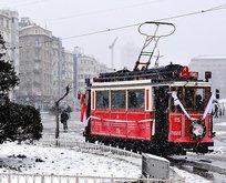 Nostaljik tramvayın altyapı yenileme çalışmaları başladı