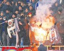 Kiev'de futbol terörü