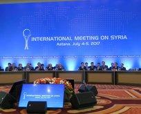 5. Astana toplantısı sonrası flaş açıklamalar