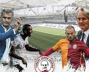 İşte Beşiktaş ve G.Sarayın derbi planı!