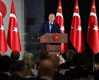 Cumhurbaşkanı Erdoğandan Elmalılı Hamdi Yazırın duası!
