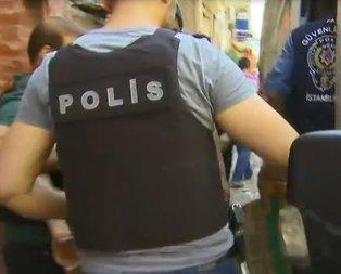 İstanbulda uyuşturucu operasyonu!
