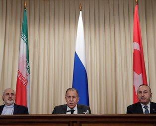 Lavrov'dan flaş Suriye açıklaması