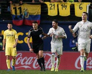 Real Madrid, La Ligada liderliği bırakmadı