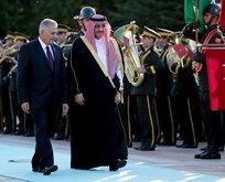 Suudi Arabistan Veliaht Prensi Türkiyede
