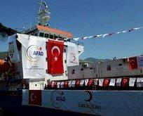 Yardım gemisi Yemen için yola çıktı