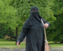 Komşu'da burka yasak