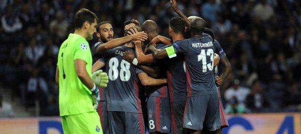 Beşiktaştan Şampiyonlar Ligi tarihinde ilk