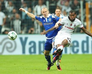 Beşiktaş sahasında Kiev ile berabere kaldı!