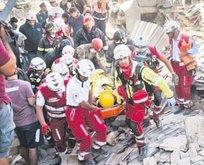 Deprem yıktı geçti