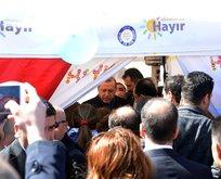 Erdoğan hayır çadırındakilere ne dediğini açıkladı