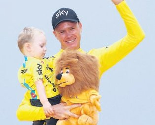 Fransa'da şampiyon yine Froome