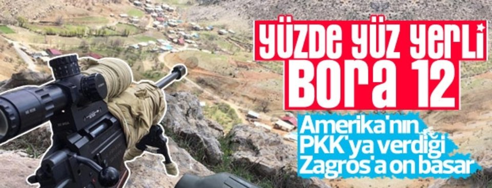 Yerli tüfek BORA-12 TSKnın gücüne güç kattı