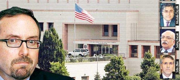 ABDnin Ankara Büyükelçiliğinde sır toplantı