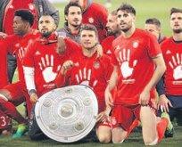 Wolfsburg'u 6-0 yenen Bayern Münih şampiyon