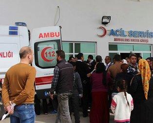 PKK yine sivilleri hedef aldı! 2 çocuk ağır yaralı