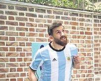 İşte Messi'nin ikizi!