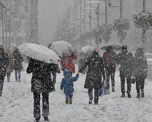 İstanbula kar geri geliyor