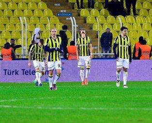 Fenerbahçeye Kadıköyde şok!