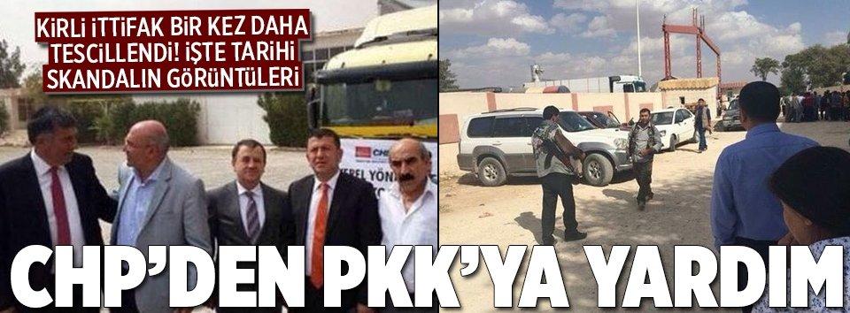 CHPden PKKya yardım
