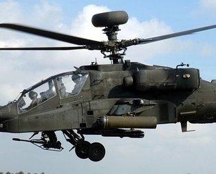Alman ordusuna ait askeri helikopter düştü