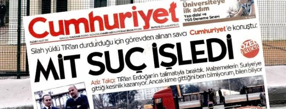 FETÖnün Cumhuriyete attırdığı terör manşetlerinden bazıları