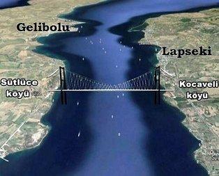 Çanakkale Köprüsü ÇED onayını aldı