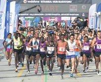 Vodafone İstanbul Yarı Maratonu start alıyor